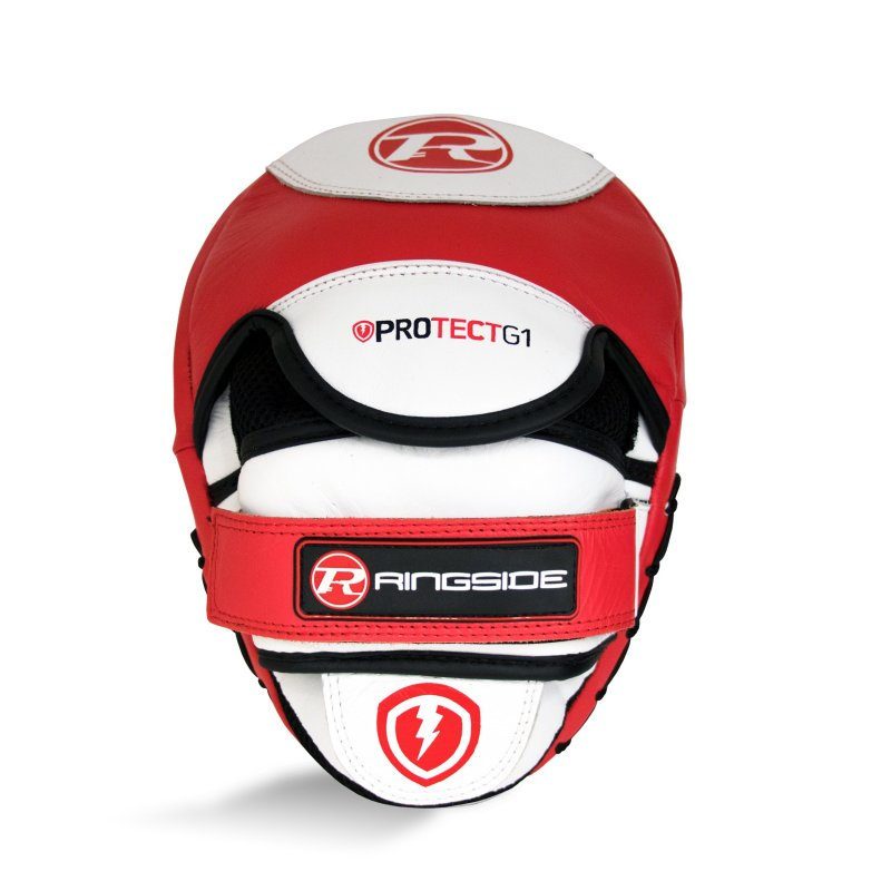 Protect G1 Hook & Jab Pads Red / White / Black