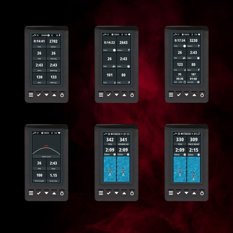 Heat Performance Rower LCD