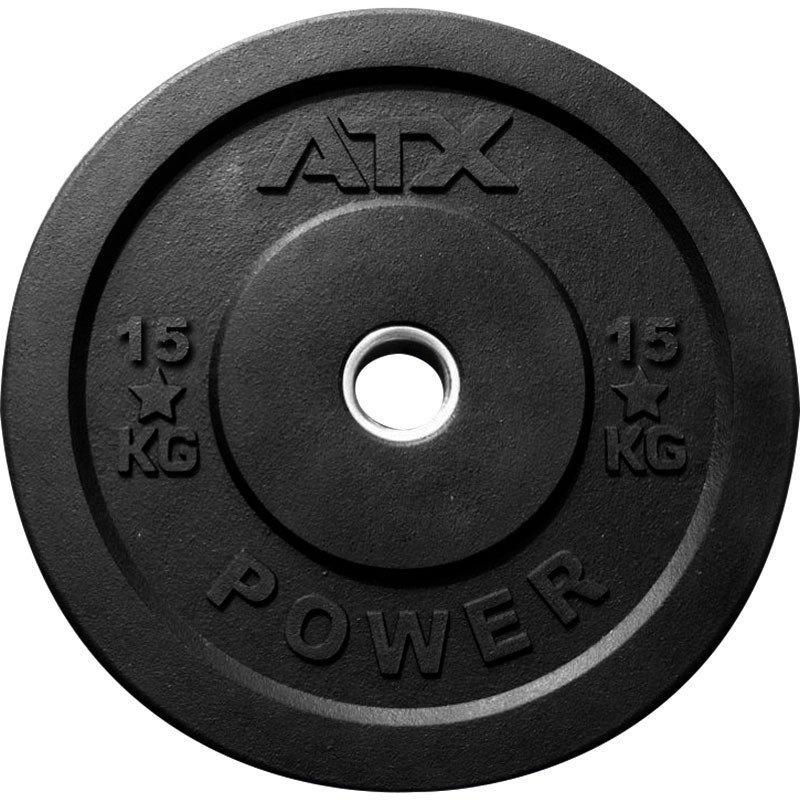 ATX Rough Rubber Bumper Plate 15kg