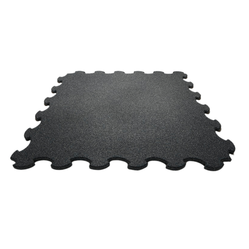 SBR rubber flooring, puzzle tile 950, thickness: 20 mm