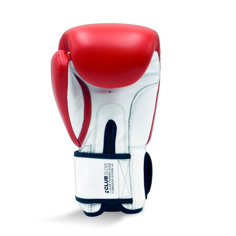 Club Glove - Red / White (14oz), Size: 14oz