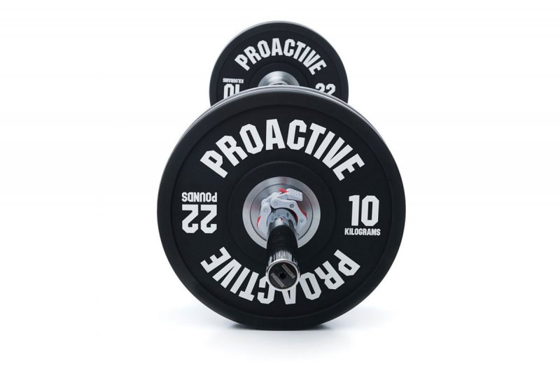 ProActive Urethane Olympic Bumper Plate