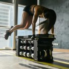 Strongbox with Dumbbells