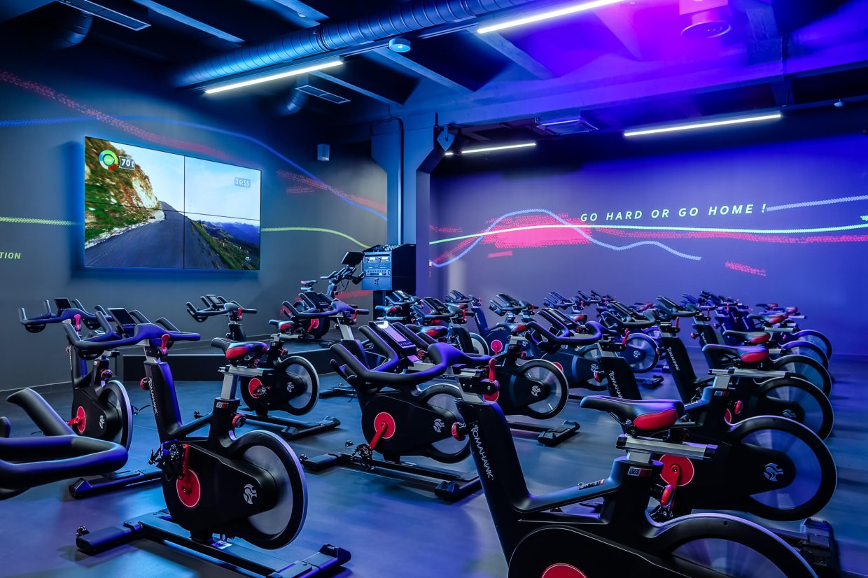 People Fitness Riga Center klubs