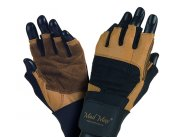 MADMAX PROFESSIONAL Gloves for fitness, Men's, Natural brown / black