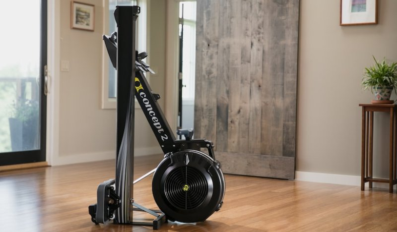Concept2 Indoor Rower model D PM5 in Black