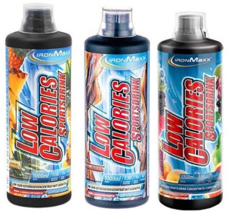 Low Calories Sportsdrink - 1000ml Bottle, different tastes