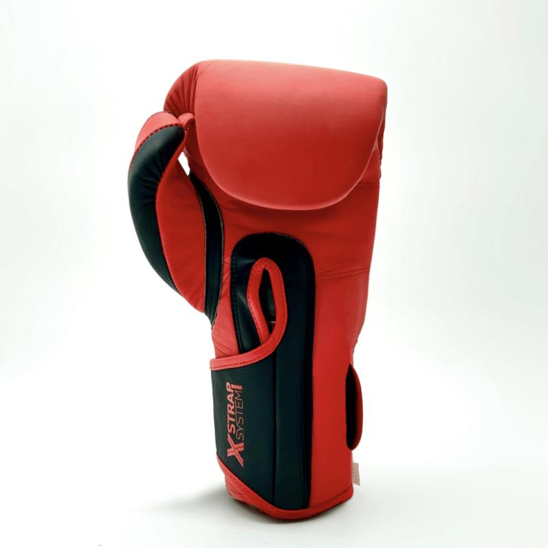 Gamma Series Limited Edition Strap Glove Red/Black