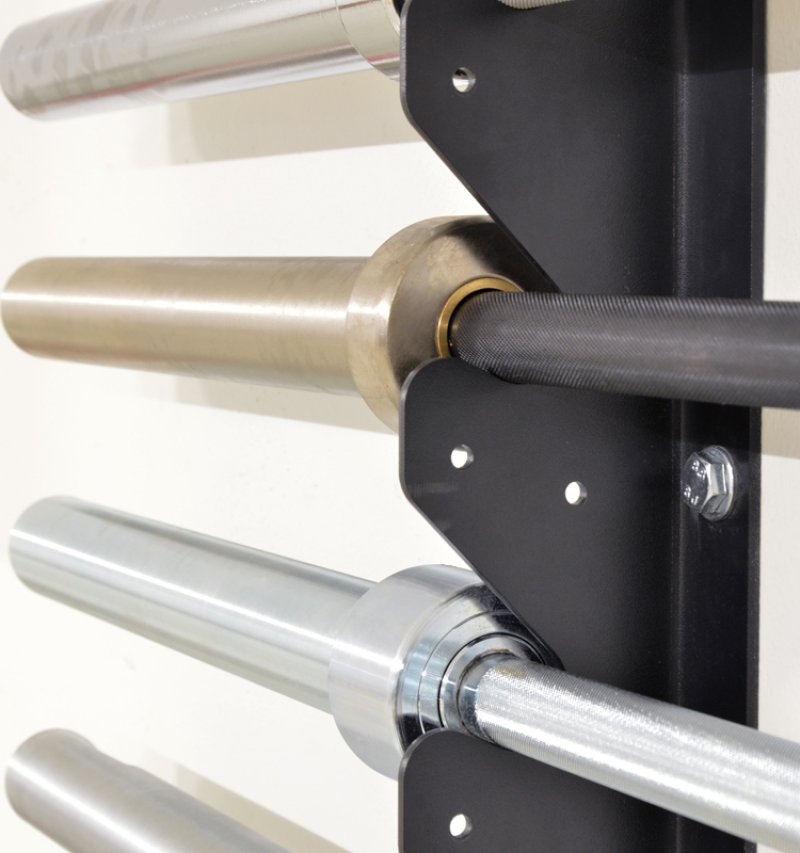 Wall Mounted Bar Rack - Ready for Bars Care Option - 6 Bars, pair