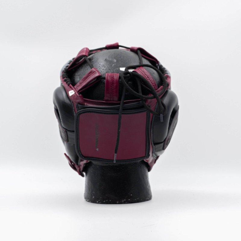 Pinnacle Series Cheek Head Guard Maroon/Black/Grey