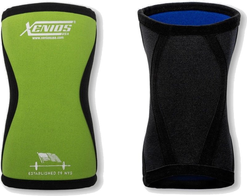Ergo Compression Neoprene (5 mm.) Knee-guard - Fluo Green