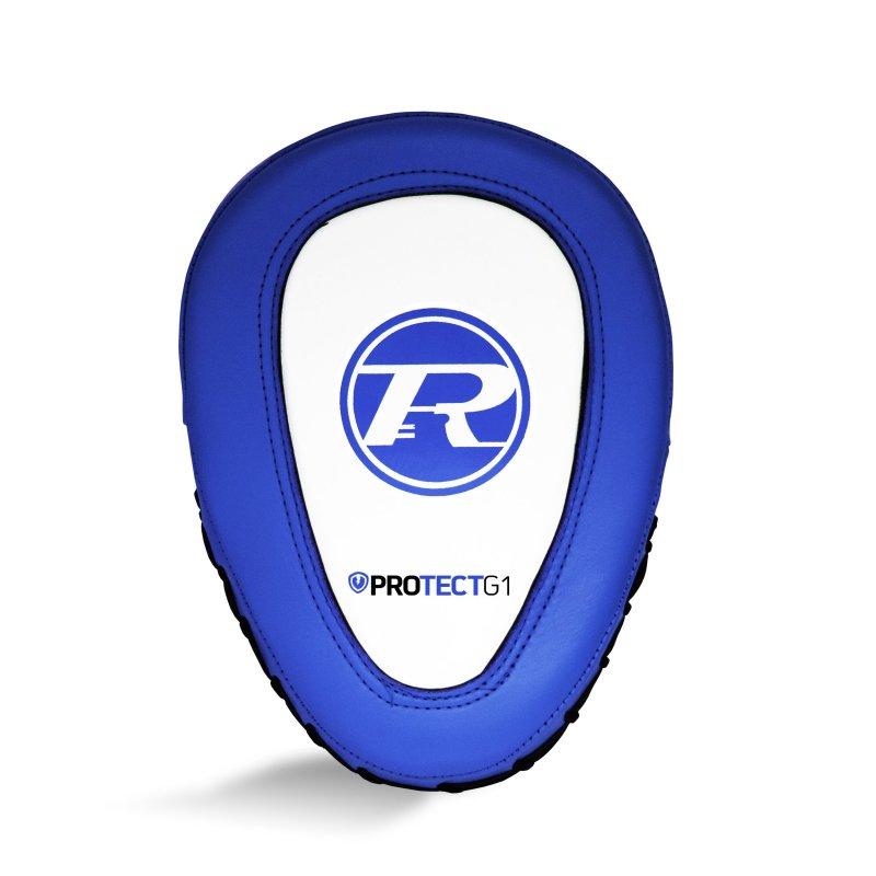 Protect G1 Hook & Jab Pads Royal / White / Black