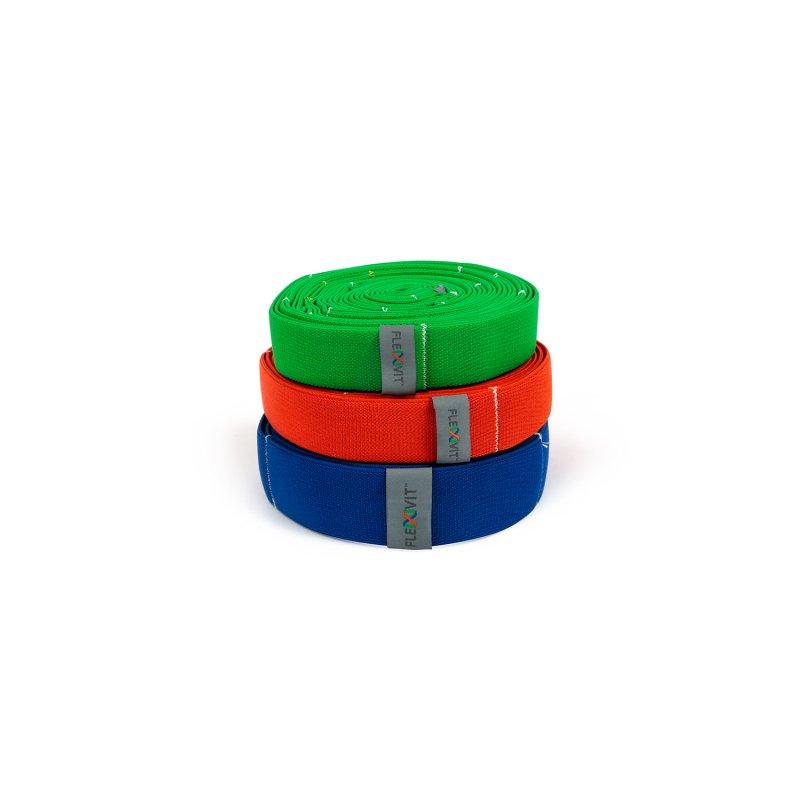 FLEXVIT Multi auduma gumijas, dažādas pretestības